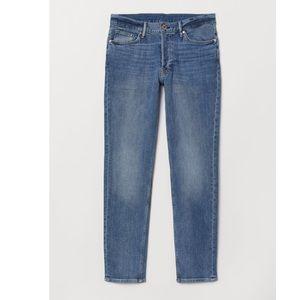 H&M Blue Slim Jeans